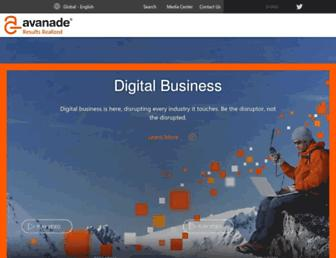 avanade.com screenshot
