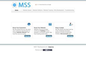 Thumbshot of Mysitespeed.com