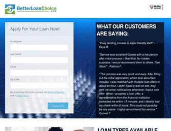 Thumbshot of Betterloanchoice.com