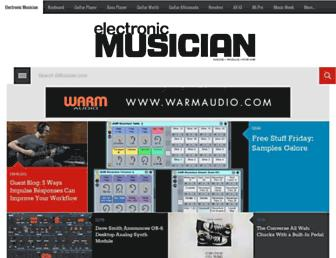 emusician.com screenshot