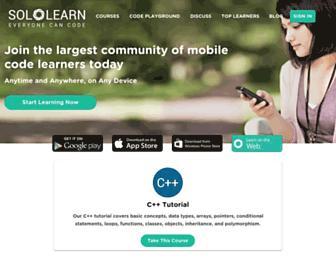 sololearn.com screenshot
