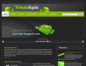 your-apk.blogspot.com screenshot