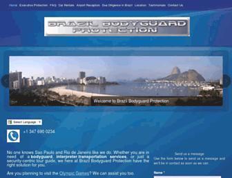 Thumbshot of Brazilbodyguardprotection.com