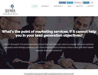 xenia-consulting.com screenshot