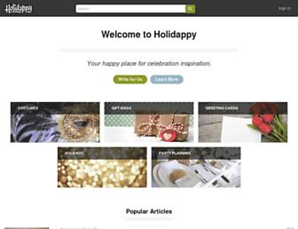 holidappy.com screenshot