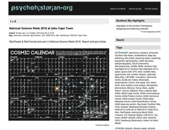 psychohistorian.org screenshot