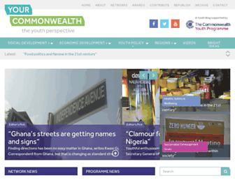 yourcommonwealth.org screenshot