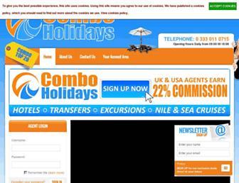 Thumbshot of Comboholidays.com