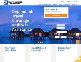 travelinsured.com screenshot
