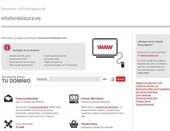 eltallerdelaura.es screenshot