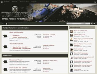 forum.worldoftanks.com screenshot