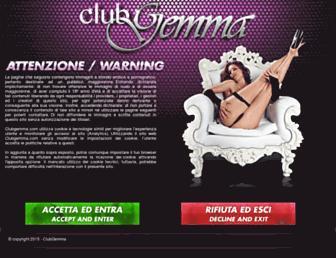 clubgemma.com screenshot