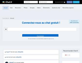 chat-fr.org screenshot