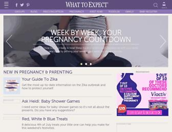whattoexpect.com screenshot