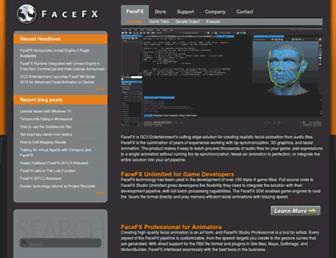 facefx.com screenshot