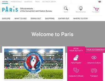 en.parisinfo.com screenshot