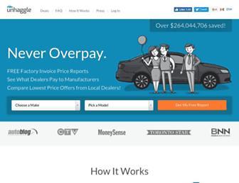 unhaggle.com screenshot