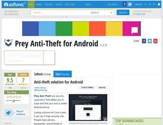 prey-anti-theft.en.softonic.com screenshot