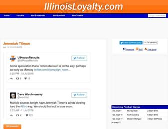 Thumbshot of Illinoisloyalty.com