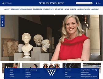 Thumbshot of Wellesley.edu