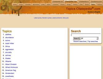 topics.citatepedia.com screenshot