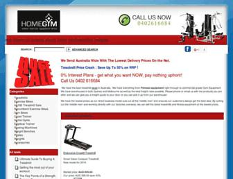 Thumbshot of Homegymequipment.com.au