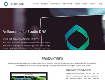 studiodna.dk screenshot