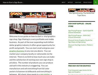 signbusiness.info screenshot