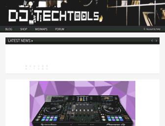 djtechtools.com screenshot