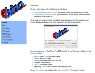 bino3d.org screenshot