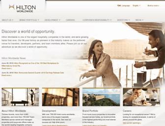 Thumbshot of Hiltonworldwide.com