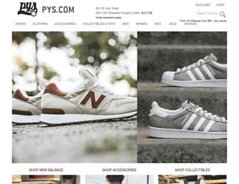 Thumbshot of Pickyourshoes.com