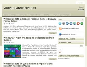 nettebuldu.blogspot.com screenshot