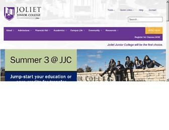 Thumbshot of Jjc.edu