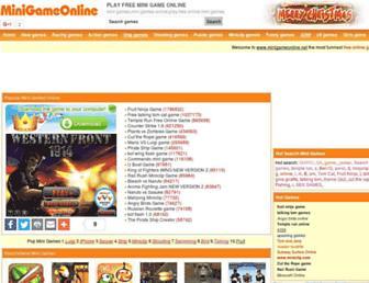 minigameonline.net screenshot