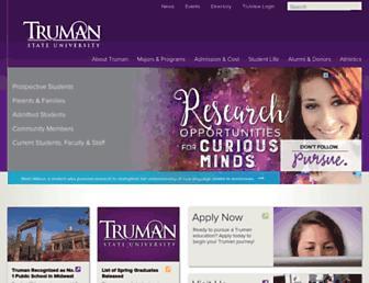 Thumbshot of Truman.edu