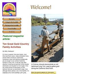 sierrafoothillmagazine.com screenshot
