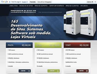 hospedagemdesites165.com screenshot