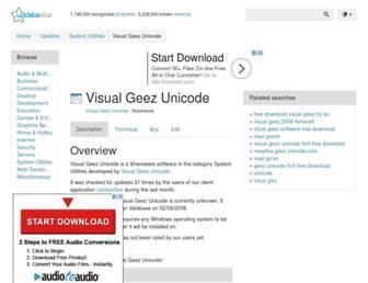 visual-geez-unicode.updatestar.com screenshot