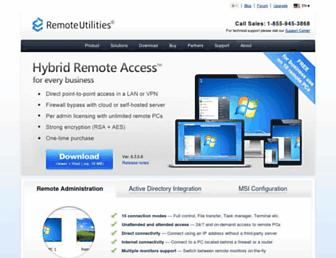 remoteutilities.com screenshot