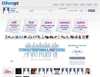 Thumbshot of Ihavegot.com