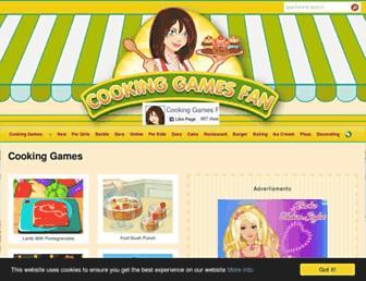Thumbshot of Cookinggamesfan.com