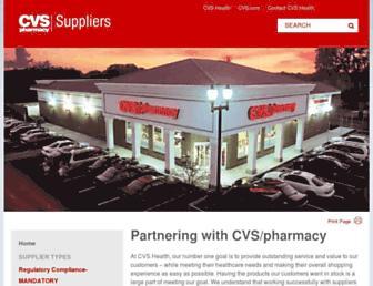 cvssuppliers.com screenshot