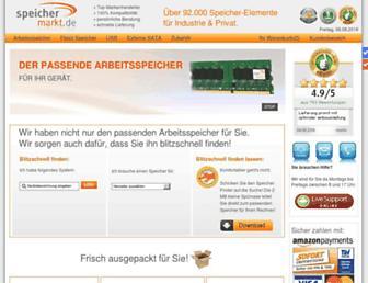 speichermarkt.de screenshot