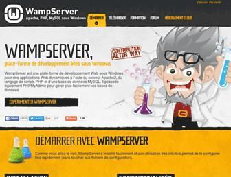 wampserver.com screenshot