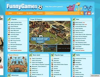 funnygames.org screenshot