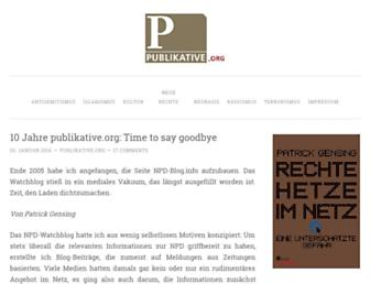 Main page screenshot of npd-blog.info
