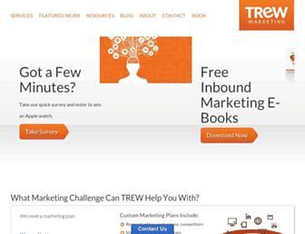 trewmarketing.com screenshot