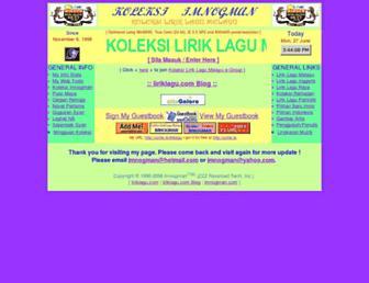 Thumbshot of Liriklagu.com