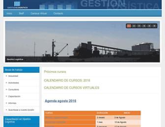 gestion-logistica.com screenshot